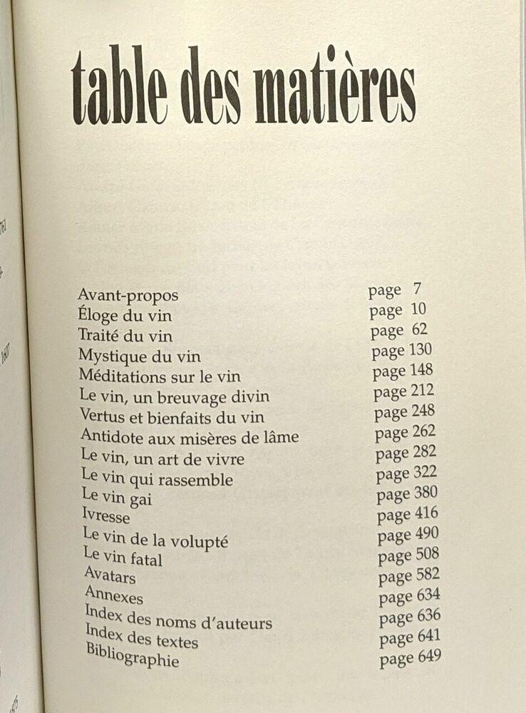 miniature 2 - Paroles à boire: Le vin + Mots en bouche: la gastronomie --- une petite